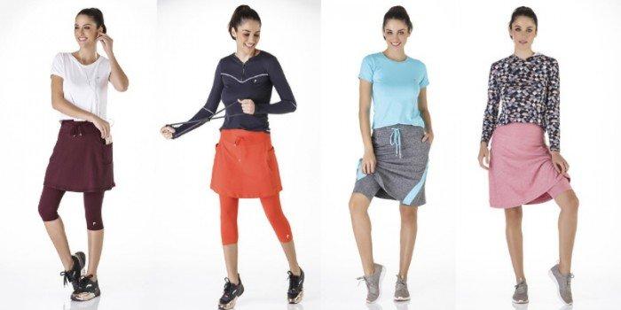blog moda fitness evangelica look saia shorts cinza e rosa saia calca vinho laranja easy resize com