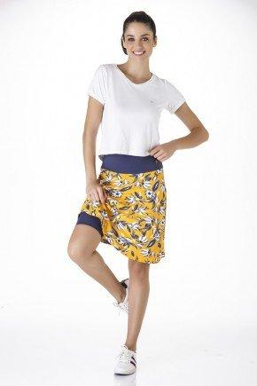 shorts saia estampado viscolycra moda fitness evangelica epulari frente
