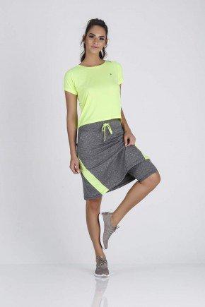 saia calca fitness evangelica epulari mescla detalhe amarelo neon detalhe calca