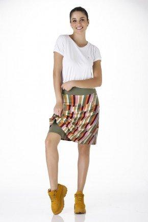 shorts saia estampa 3d poliamida alta compressao moda fitness evangelica