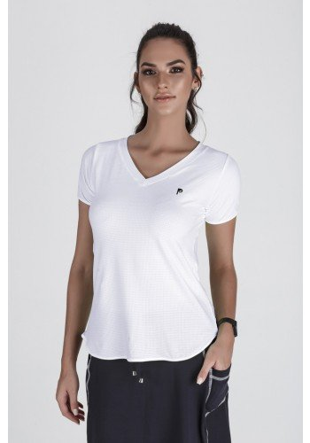 t shit feminina cor branca modelo alongada propria para fitness2