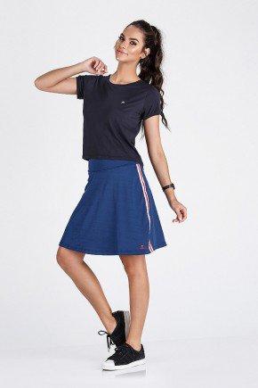 saia shorts fitness evangelica azul epulari frente ep012av