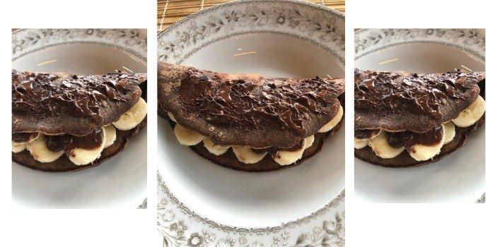 Crepioca De Chocolate Fit