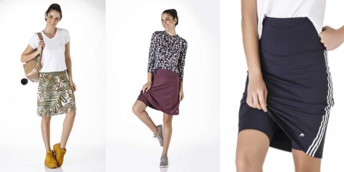 Como escolher a saia perfeita para mulheres com quadril largo e perna grossa