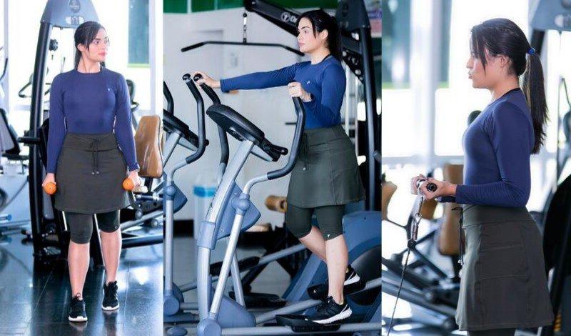 moda fitness evangelica leggin com saia body termico saia calca