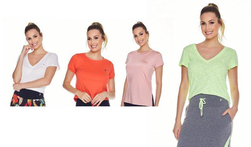 tshirts modelos look fitness evangelico caminhada na praia