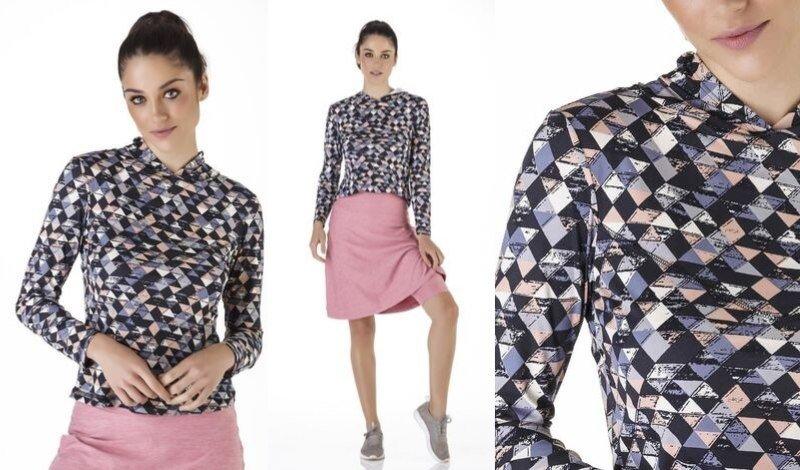 04 roupa repelente modelo com blusa manga longa repelente