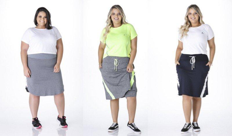 03 modelo corsario plus size moda evangelica modelo de saia shortsfitness easy resize com