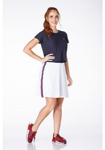 shorts saia branca com azul poliamida uv50 epulari a
