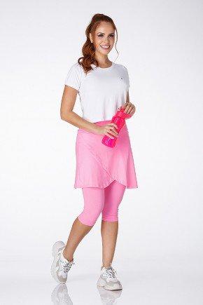 saia calca rosa bebe transpassada poliamida uv50 epulari frente