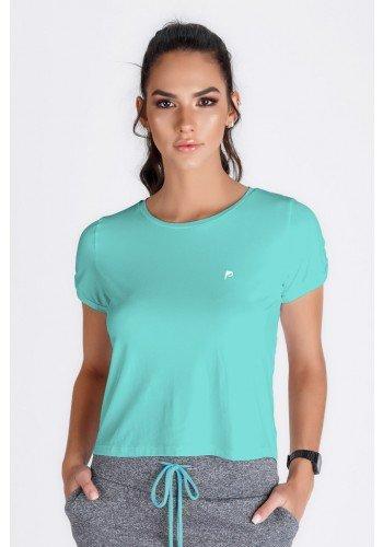 t shirts cropped azul fitness uv50 epulari frente