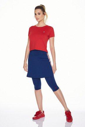 saia calca azul marinho fitness evangelica com galao epulari ep072 frente body