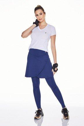 saia calca comprida azul marinho poliamida uv50 epulari frente