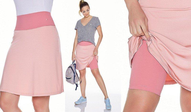 saia shorts fitness evangelica moda modesta tecido emana plus