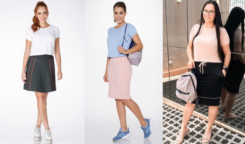 post blog cropped poliamida saia shorts moda fitness evangelica