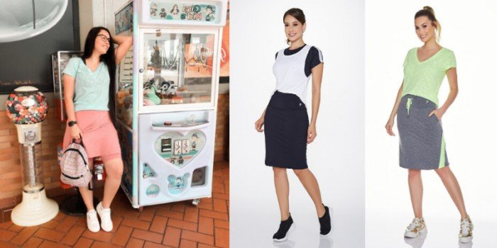Os modelos de Shorts Saias que combinam com tudo!