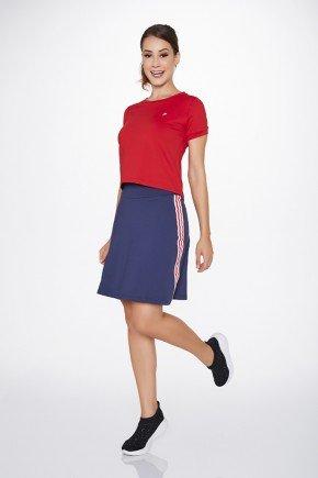 saia shorts fitness evangelica azul epulari ep012av frente