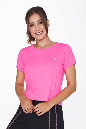 cropped rosa neon poliamida uv50 epulari ep002rsn frente