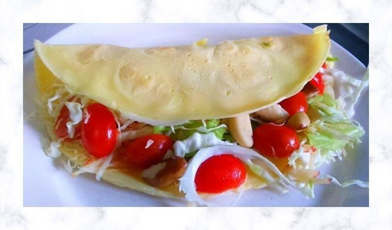 post no blog crepioca de franco com tomate