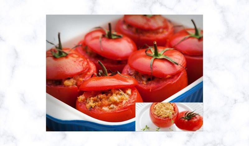 post no blog tomate recheado com frango
