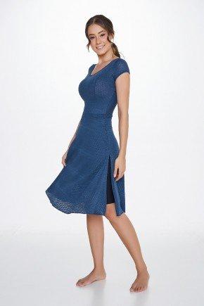 vestido com shorts moda praia evangelica alta compressao uv50 epulari ep050ap lado
