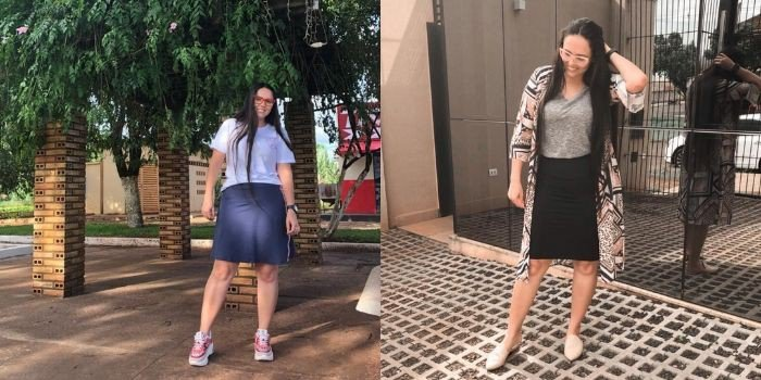 5 looks incríveis com t-shirt básica: do esportivo ao casual