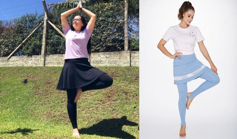 melhores roupas para yoga pilates musculacao