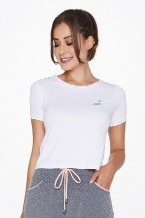 t shirts cropped branco fitness uv50 epulari ep023 frente detalhe