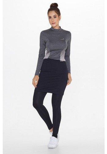 saia calca fitness elastico cintura preta uv50 epulari ep064 frente2