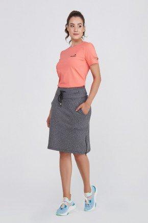 shorts saia grafite com ziper alta compressao uv50 epulari ep076 frente