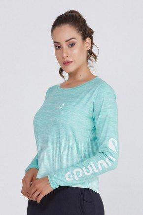 blusa manga longa feminina poliamida protecao uv50 epulari ep031va frente