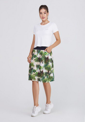 shorts saia poliamida estampada supplex alta compressao uv50 epulari frente 2