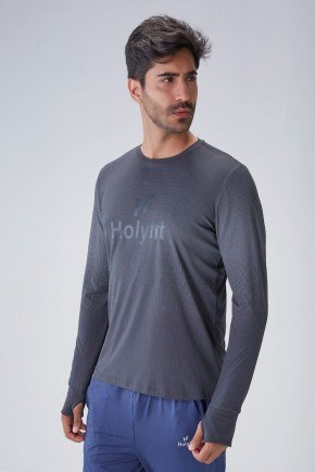blusa manga longa masculina chumbo repelente protecao uv50 holyfit frente