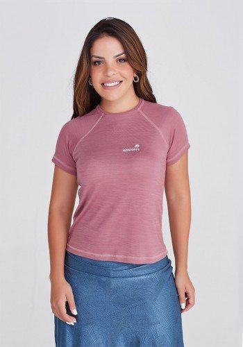 t shirt feminina fitness poliamida leve e macia com protecao uv50 paola epulari frente