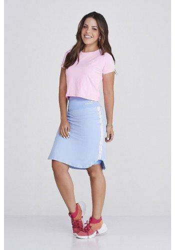 shorts saia azul claro poliamida supplex original alta compressao uv50 epulari 1