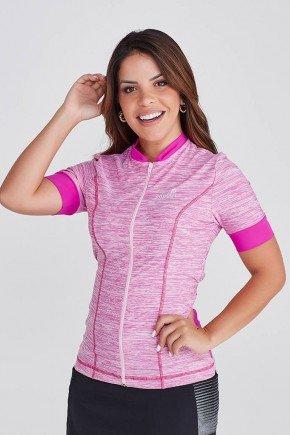 blusa ciclista com bosos e ziper em poliamida com protecao uv epulari