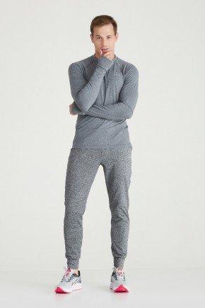 calca jogger masculina mescla cinza com cordao holyfit hf0404 1