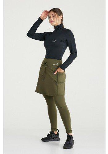 saia calca verde militar termica peluciada protecao uv50 epulari ep019vd 1
