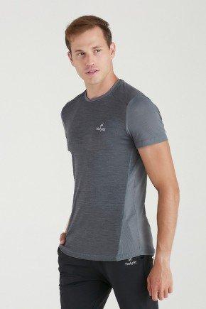 camiseta fitness masculina poliamida recorte dupla face chumbo protecao uv50 holyfit 1
