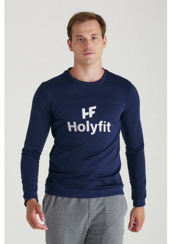 blusa de moletom classic holyfit masculino logo bordado 1