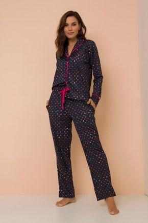 pijama conjunto manga longa com calca juliete pj002 1
