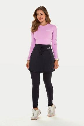 saia calca comprida preta poliamida com protecao uv50 epulari moda fitness modesta 4