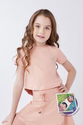 blusa rose cropped moda infantil fitenss evangelica poliamida epulari kids 41