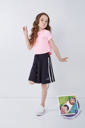 shorts saia infantil moda fitness evangelica poliamida epulari kids 21