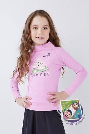 blusa manga longa infantil com protecao uv para ir na piscina praia epulari kids 21